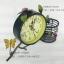 นาฬิกาตั้งโต๊ะ สไตล์ Vintage เก๋ๆ รูปกิ่งไม้และผีเสื้อ มีตะกร้าใส่ของเล็กๆน้อยๆได้ thumbnail 5