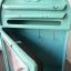 นาฬิกาแขวนผนัง (หรือตั้งโต๊ะก็ได้) รูปตู้ ปณ สีเขียว thumbnail 3