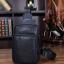 LT19 กระเป๋าสะพายไหล่ กระเป๋าคาดอก หนัง PU สีดำ thumbnail 10