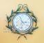 นาฬิกาติดผนัง Vintage รุ่นใบไม้เขียว thumbnail 1