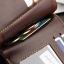WS06-Black กระเป๋าสตางค์ใบสั้น แนวนอน กระเป๋าสตางค์ผู้ชาย หนัง PU เกรดเอ สีดำ thumbnail 6