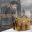 CV12-Khaki กระเป๋าสะพายข้าง ผ้าแคนวาส MO&Y สีกากี thumbnail 2