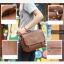 LT11-Brown กระเป๋าสะพายข้าง หนัง PU สีน้ำตาล thumbnail 16