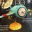 นาฬิกาตั้งโต๊ะเก๋ๆ รูปเครื่องบินโบราณสีฟ้าสองใบพัด thumbnail 1