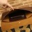 LT20-Brown กระเป๋าถือ กระเป๋าคลัช ผู้ชาย A4 หนัง Crazy Horse PU สีน้ำตาล thumbnail 18