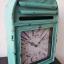 นาฬิกาแขวนผนัง (หรือตั้งโต๊ะก็ได้) รูปตู้ ปณ สีเขียว thumbnail 2