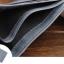 WS09-Gray กระเป๋าสตางค์ใบสั้น แนวนอน กระเป๋าสตางค์ผู้ชาย หนัง PU เกรดเอ สีเทา thumbnail 5