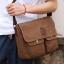 CV09-Brown กระเป๋าสะพายข้าง ผ้าแคนวาส สีน้ำตาล thumbnail 8