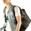 CV19-Brown กระเป๋าถือผู้ชาย + สะพายข้าง MO&Y ผ้าแคนวาส สีน้ำตาล thumbnail 12