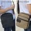 CV11-Khaki กระเป๋าสะพายข้าง ผ้าแคนวาส สีกากี thumbnail 7