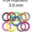 เส้นพลาสติก PLA Filament ขนาด 3.00 mm (1 kg / ม้วน) thumbnail 1