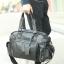 LT23 กระเป๋าสะพายข้าง หนัง PU สีดำ thumbnail 4