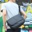 LT11-Black กระเป๋าสะพายข้าง หนัง PU สีดำ thumbnail 3