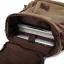 TR04-Khaki กระเป๋าเป้สะพายหลัง ผ้าแคนวาส สีกากี thumbnail 11
