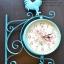 นาฬิกาติดผนัง นาฬิกาแขวนสไตล์วินเทจแต่งบ้าน รูปไก่แจ้ thumbnail 1