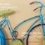 นาฬิกาติดผนัง รุ่นจักรยานวินเทจสีฟ้า ดีไซน์สวยเก๋ไม่เหมือนใคร thumbnail 4