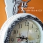 นาฬิกาติดผนังประดับตกแต่งบ้านแนววินเทจ รุ่น HT0158 สีขาวแตกลายงา thumbnail 4