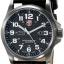 Luminox Men's A.1921 'Atacama' Carbon Fiber Dial Black Leather Strap Quartz Watch thumbnail 1