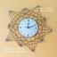 นาฬิกาติดผนังโมเดิร์นเสริมดวง รุ่นดาวกระจายสิบแฉก thumbnail 1