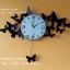 นาฬิกาติดผนังดีไซน์โมเดิร์น รูปผีเสื้อหลายตัว thumbnail 1