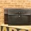LT20-Brown กระเป๋าถือ กระเป๋าคลัช ผู้ชาย A4 หนัง Crazy Horse PU สีน้ำตาล thumbnail 16