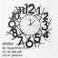 นาฬิกาแขวนผนัง สไตล์ Modern Country เลขอารบิกตัวใหญ่ - HT0002 thumbnail 1