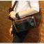 LT39 กระเป๋าสะพายข้าง หนัง Crazy Horse PU สีน้ำตาลดำ thumbnail 24