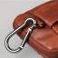 LT36-Black กระเป๋าร้อยเข็มขัด กระเป๋าคาดเข็มขัด หนัง PU สีดำ (มีสายสะพาย) thumbnail 9