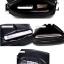 LT28 กระเป๋าสะพายข้าง หนัง PU สีดำ thumbnail 10