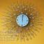 นาฬิกาติดผนัง ทรงพระอาทิตย์ รัศมีประดับพลอย รหัส HT0012 thumbnail 1