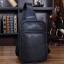LT19 กระเป๋าสะพายไหล่ กระเป๋าคาดอก หนัง PU สีดำ thumbnail 11