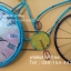 นาฬิกาติดผนัง รุ่นจักรยานวินเทจสีฟ้า ดีไซน์สวยเก๋ไม่เหมือนใคร thumbnail 3