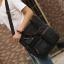 CV18-Black กระเป๋าถือผู้ชาย + สะพายข้าง ผ้าแคนวาส สีดำ thumbnail 2