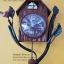 นาฬิกาบ้านนก สไตล์วินเทจ ตั้งโต๊ะตกแต่งบ้านสวยๆเก๋ๆ thumbnail 1