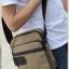 CV11-Khaki กระเป๋าสะพายข้าง ผ้าแคนวาส สีกากี thumbnail 5