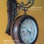 นาฬิกาแขวนผนังแนววินเทจ ดูเวลาได้ 2 หน้า สีน้ำตาล รุ่น HT0159 thumbnail 1