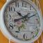 นาฬิกาแขวนแต่งบ้าน รูปกรงนกติดผนัง สีขาว thumbnail 2