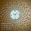 นาฬิกาแขวนผนังสวยๆ รูปรัศมีพลอยสวย - รหัส HT0020 thumbnail 1