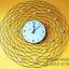 นาฬิกาติดผนัง วงตาข่ายพลอย รหัส HT0013 thumbnail 1
