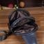 LT19 กระเป๋าสะพายไหล่ กระเป๋าคาดอก หนัง PU สีดำ thumbnail 4