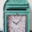 นาฬิกาแขวนผนัง (หรือตั้งโต๊ะก็ได้) รูปตู้ ปณ สีเขียว thumbnail 1