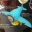 นาฬิกาตั้งโต๊ะเก๋ๆ รูปเครื่องบินโบราณสีฟ้าสองใบพัด thumbnail 3