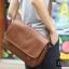 LT11-Brown กระเป๋าสะพายข้าง หนัง PU สีน้ำตาล thumbnail 3