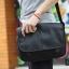 LT11-Black กระเป๋าสะพายข้าง หนัง PU สีดำ thumbnail 8