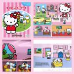 Hello Kitty My Busy Book : 12 Figurines & Playmat