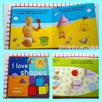 I Love Shapes - Big Lift the Flap Book [Board Book]