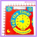 Tell The Time : Wipe-Clean Book