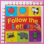 Follow the Letters :Wipe-Clean Book