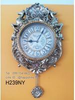 นาฬิกาติดผนังเก๋ๆ Modern รุ่นกวางคู่
