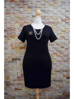พร้อมส่งชุดดำ Size L > XLราคา 298฿